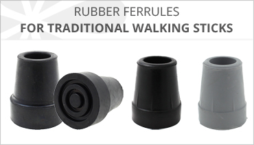 WALKING STICK RUBBER FERRULES